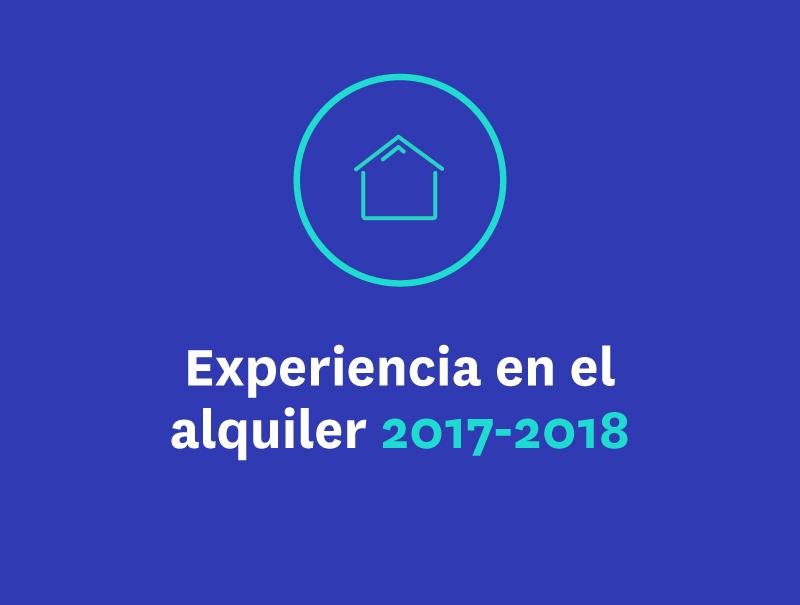 Experiencia en el alquiler 2017-2018