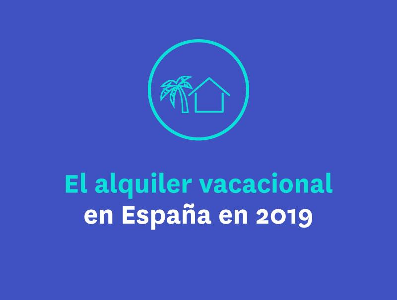 El alquiler vacacional en España en 2019