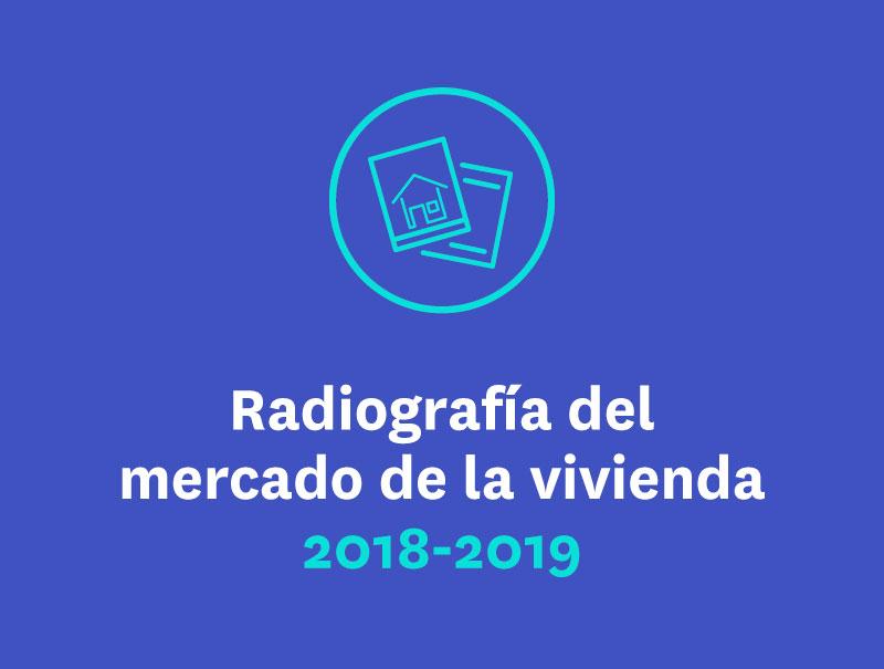 Radiografía del mercado de la vivienda 2018-2019